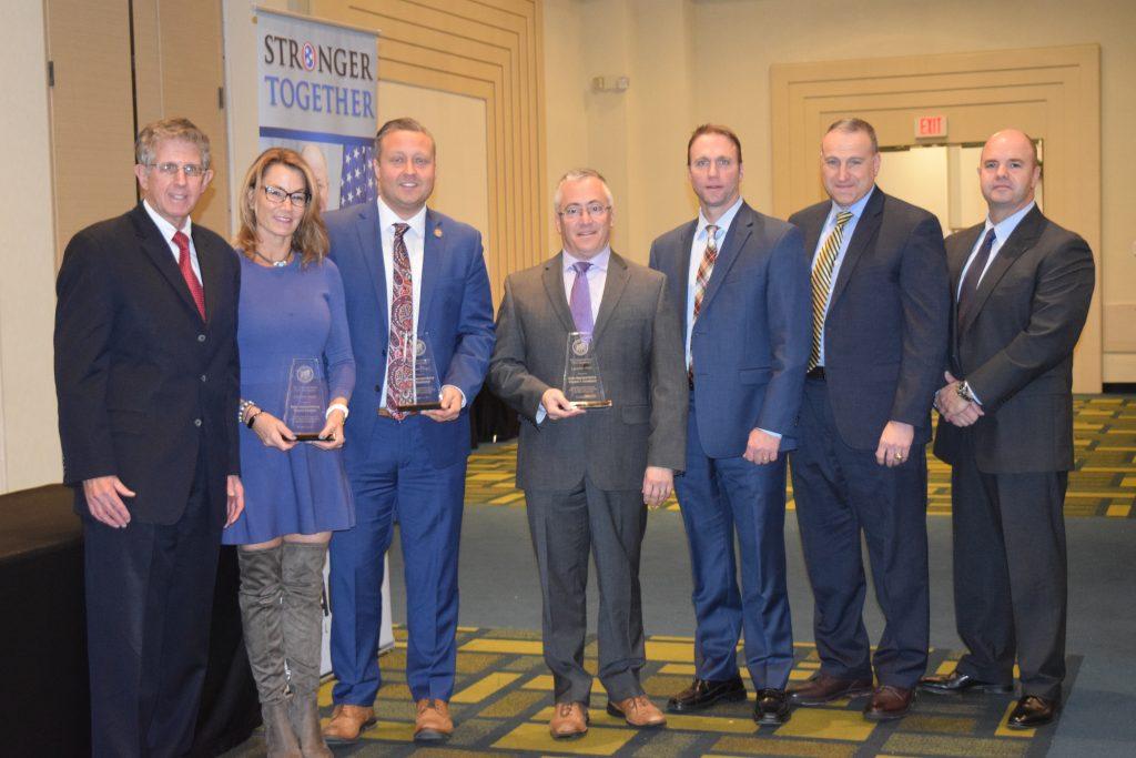 Reps  Candelora, Klarides, Sredzinski Receive Award from CT