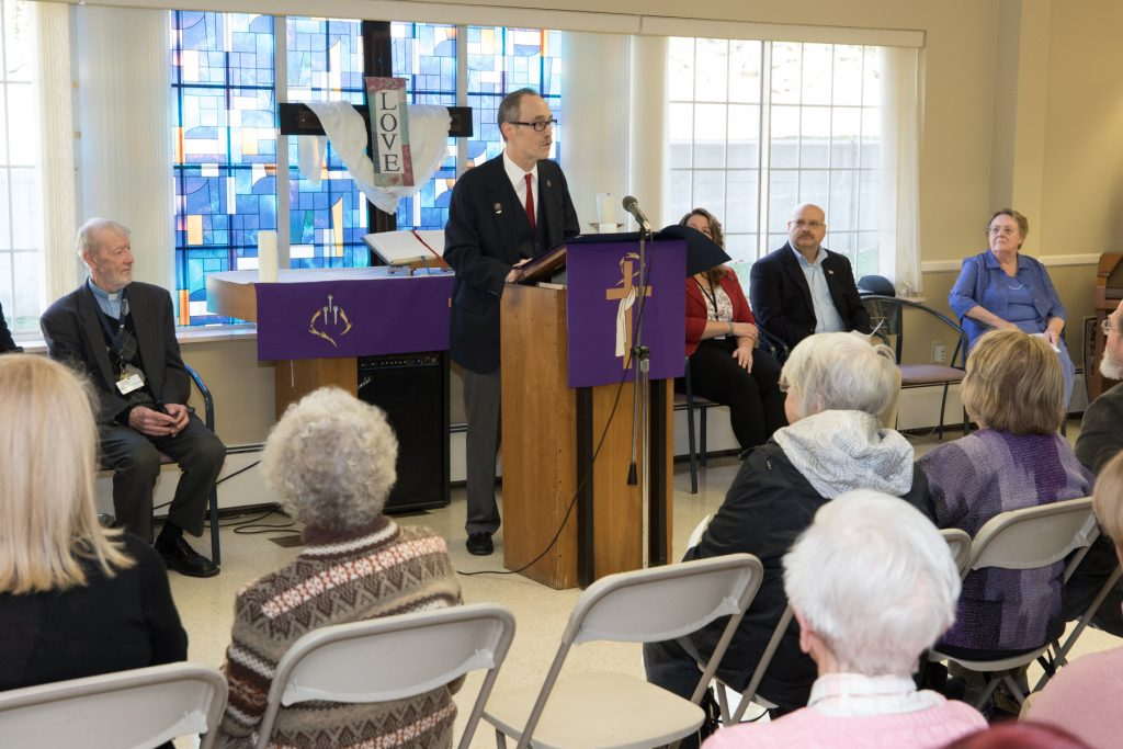 Rep O Neill Honors Lutheran Home Of Southbury