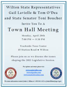 Wilton Town Hall Invite 040913