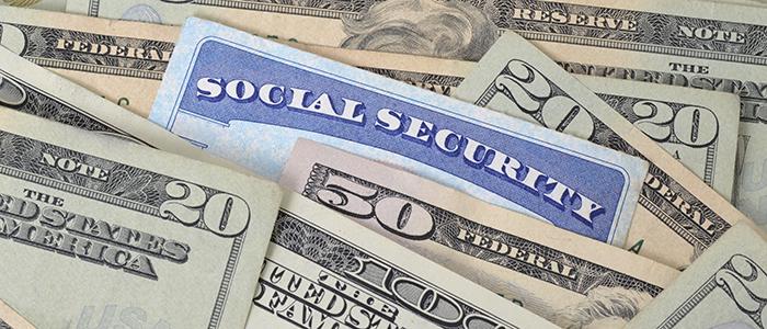 Social Security slider