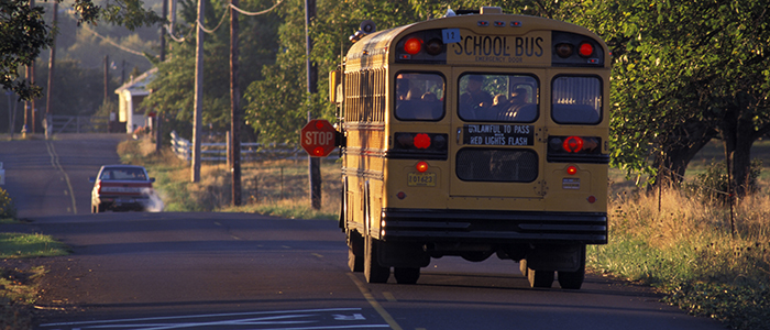 school bus slider