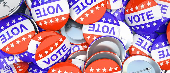 vote buttons slider