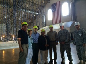 Hartford Skylight Roof Project Visit 24 AUG 15(Drill Floor)