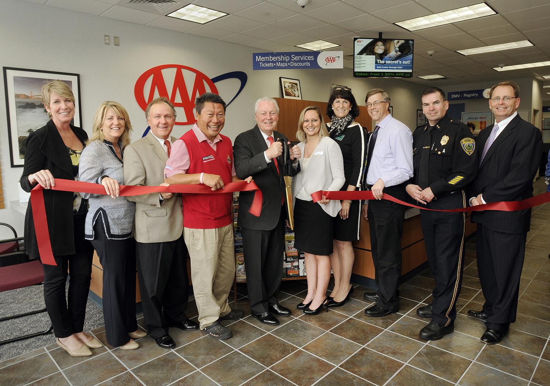 Fairfield Officials Hail New 'AAA' Fairfield Branch Office