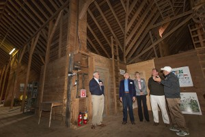State Senator John Kissel tours the Hilltop Farm in Suffield CT. May 17, 2016.